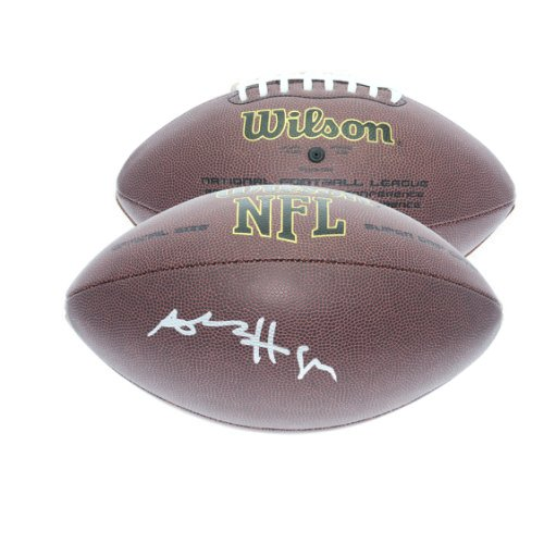 e2526252fec Antonio Brown Pittsburgh Steelers Autographed Signed Wilson NFL Supergrip  Football - JSA Authentication