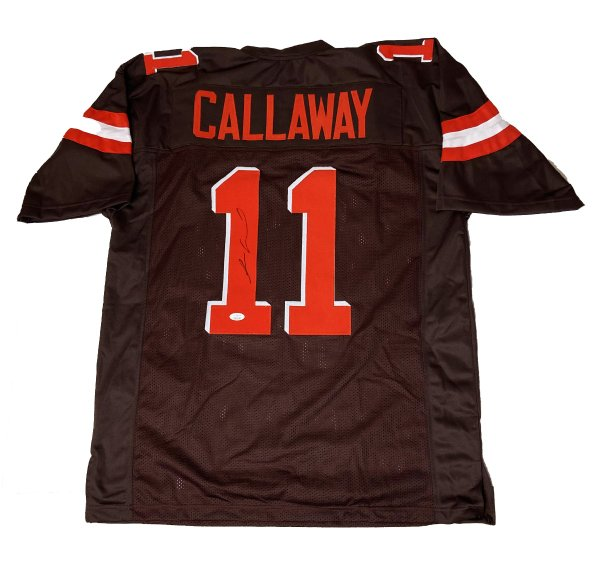 Antonio Callaway Cleveland Browns Autographed Signed Custom Jersey - JSA Authentic