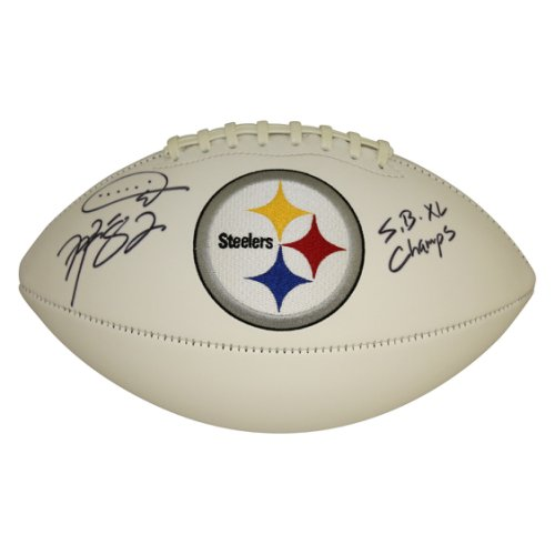 8100d00b8aa Antwaan Randle El Pittsburgh Steelers Autographed Signed White Panel Logo  Football - JSA Authentic