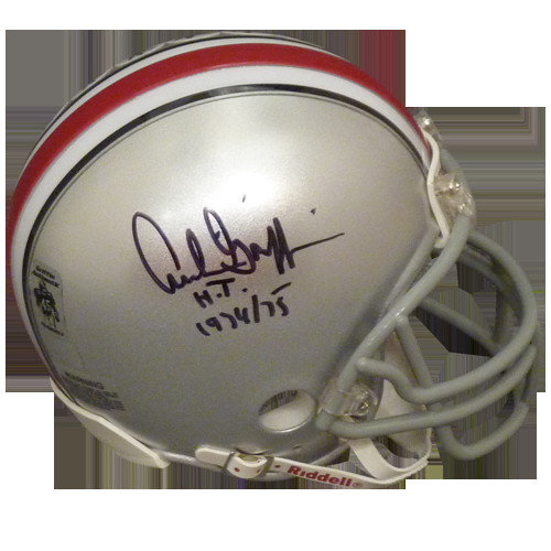 dbe7d3e3e35 Archie Griffin Autographed Signed Auto Ohio State Buckeyes Mini Helmet H.T.  1974 75 - Certified