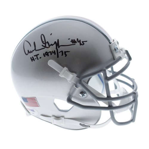 464fdea3458 ... Football Signed - JSA Certified Authentic.  539.99.  458.99. Archie  Griffin Ohio State Buckeyes Schutt Silver Mini Helmet W  H.T. 1974 75 Ins