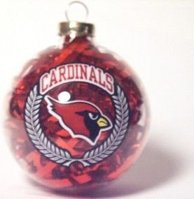 Arizona Cardinals Ornaments Filled Ball