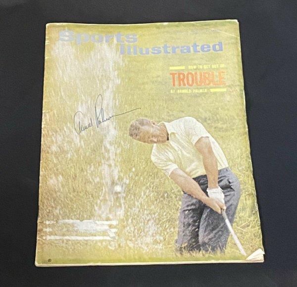 Arnold Palmer Autographed Signed 1965 Sports Illustrated Magazine JSA Loa Vintage