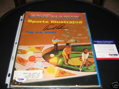 Arnold Palmer Autographed Signed Masters PSA/DNA Sports Illustrated