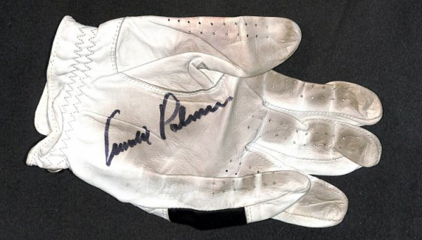 Arnold Palmer Autographed Signed Signed Callaway Game Used Worn Golf Glove Beckett Beckett