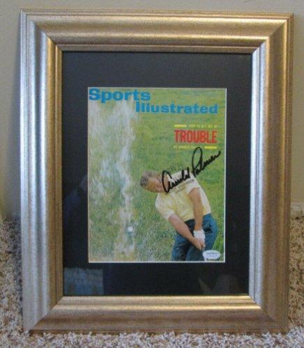 Arnold Palmer Autographed Signed Vintage Auto 1965 Sports Illustrated COA JSA Pga Tour