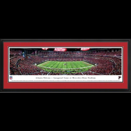 Atlanta Falcons Deluxe Framed Mercedes-Benz Stadium Panoramic