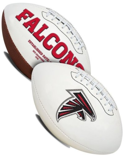 Atlanta Falcons Embroidered Logo Signature Series Football