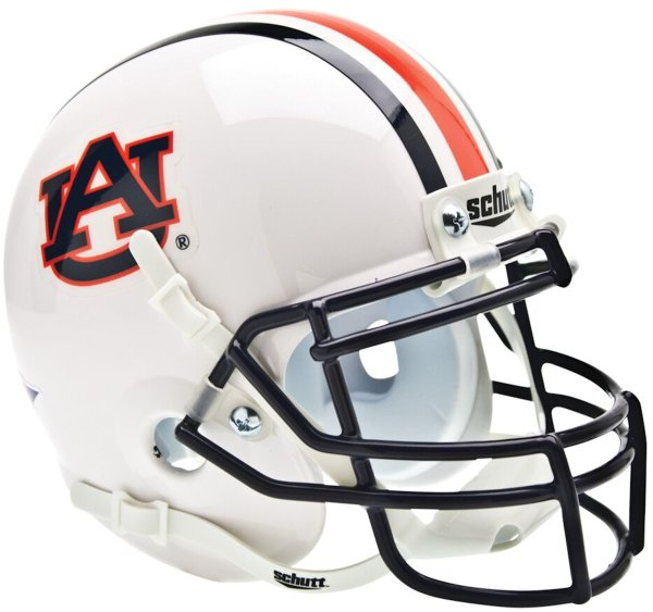 Auburn Tigers Mini XP Authentic Helmet Schutt