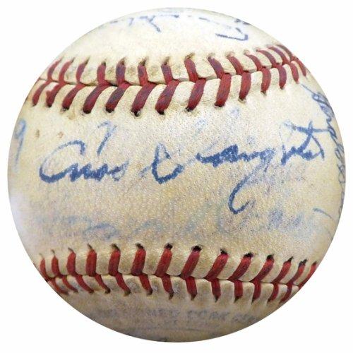 Authentic 194 Autographed Signed7 St. Louis Cardinals Autograph