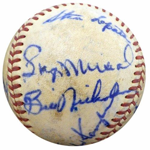 Authentic 195 Autographed Signed0 St. Louis Cardinals Autograph