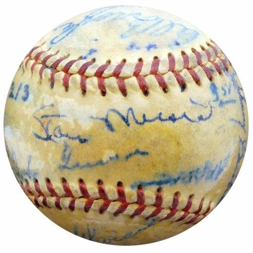 Authentic  Autographed Signed1951 St. Louis Cardinals Autograph