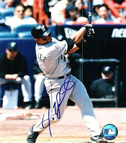 03571eb4c Autographed Signed 8x10 Photo Ivan Rodriguez Florida Marlins - Certified  Authentic