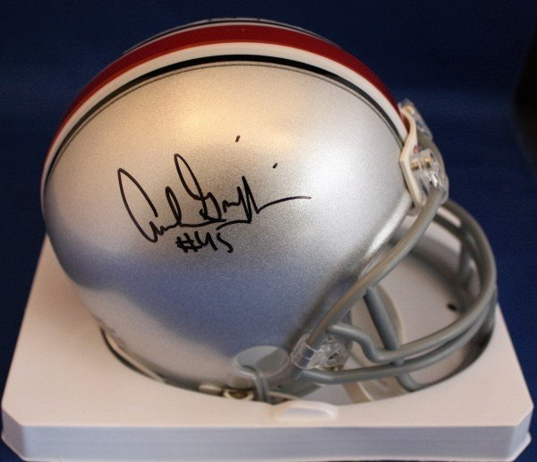 f3e5af2efae Autographed Signed Archie Griffin Ohio State Buckeyes Mini Helmet Coa - Certified  Authentic