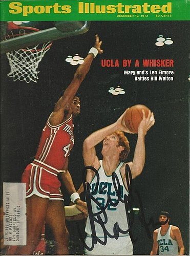 Autographed Signed Bill Walton Ucla Bruins 9/10/73 Sports Illustrated Magazine - Certified Authentic