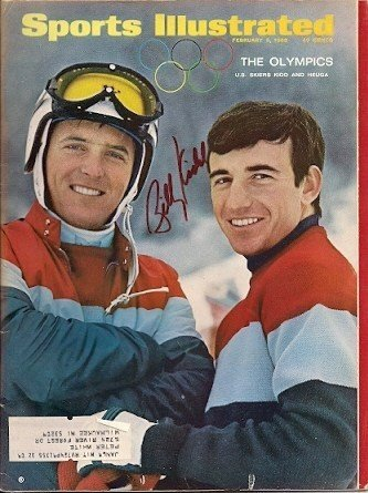 Autographed Signed Billy Kidd -U.S. Skier- Sports Illustrated - Certified Authentic