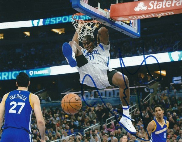 7211ca7ae99f Autographed Signed Bismack Biyombo 8x10 Orlando Magic Photo - Certified  Authentic