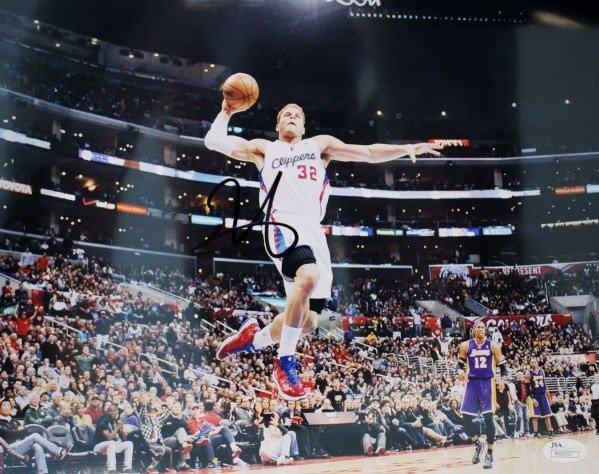 Autographed Signed Blake Griffin 11 X 14 Los Angeles Clippers Photo - Certified Authentic