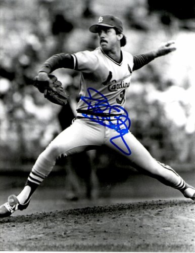 Autographed Signed Bob Shirley 8X10 St. Louis Cardinals Photo