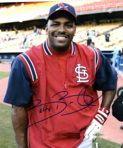 Autographed Signed Bobby Bonilla St. Louis Cardinals Photo