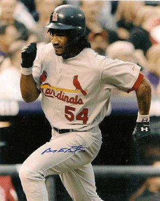 Autographed Signed Brian Barton St. Louis Cardinals Photo