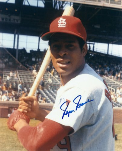 Autographed Signed Byron Browne St. Louis Cardinals 8x10 Photo Coa