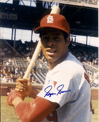 Autographed Signed Byron Browne St. Louis Cardinals Photo