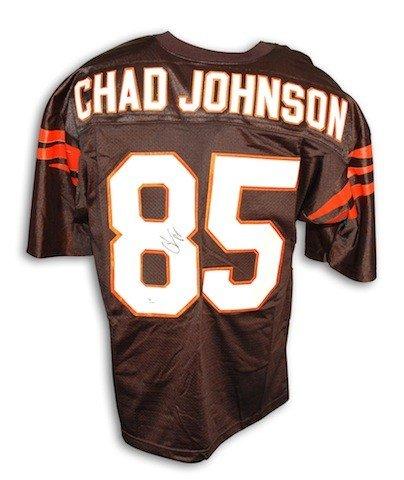 05fec946 Autographed Signed Chad Johnson Cincinnati Bengals Black Custom Made Jersey  - Certified Authentic