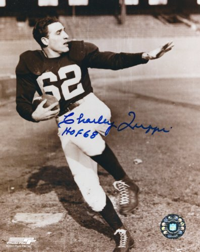 Autographed Signed Charley Trippi 8X10 Chicago Cardinals Photo