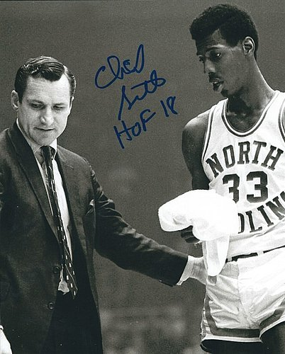 1642b1b08 Autographed Signed Charlie Scott 8x10 North Carolina Tar Heels Photo -  Certified Authentic