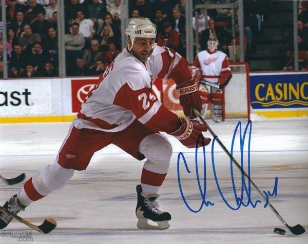 Autographed Signed Chris Chelios 8x10 Detroit Red Wings Photo - Certified  Authentic 719a5c1d1