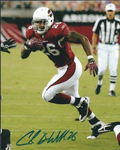 Autographed Signed Chris Wells 8X10 Photo Arizona Cardinals