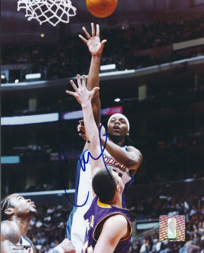 Autographed Signed Chris Wilcox 8X10 Los Angeles Clippers Photo