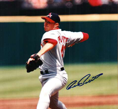 Autographed Signed Cliff Politte St. Louis Cardinals Photo