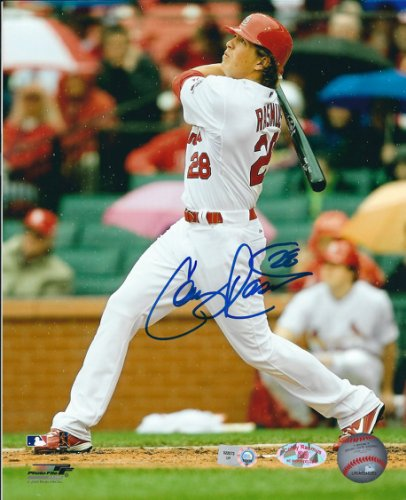 Autographed Signed Colby Rasmus 8X10 St. Louis Cardinals Photo