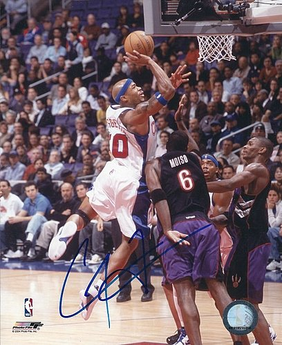 Autographed Signed Corey Maggette 8x10 Los Angeles Clippers Photo - Certified Authentic