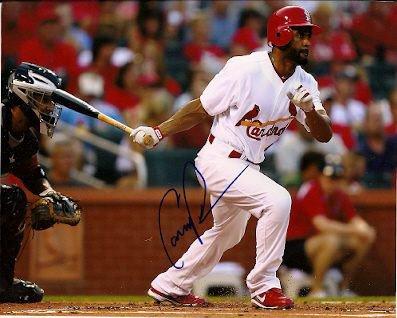 Autographed Signed Corey Patterson St. Louis Cardinals Photo