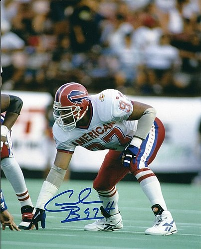 DR654 Cornelius Bennett Alabama Crimson Tide Bills 8x10 11x14 16x20 Photo