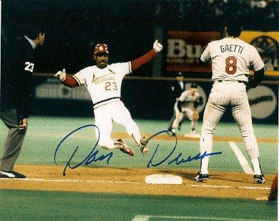 Autographed Signed Dan Driessen St. Louis Cardinals Photo