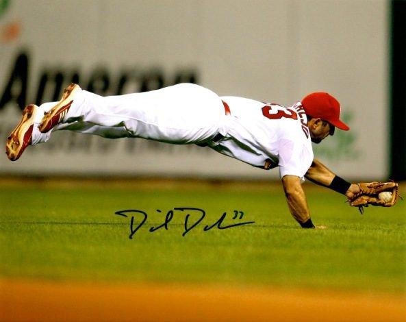 Autographed Signed Daniel Descalso 8X10 St. Louis Cardinals Photo
