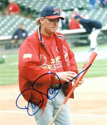 Autographed Signed Dave Duncan St. Louis Cardinals Photo