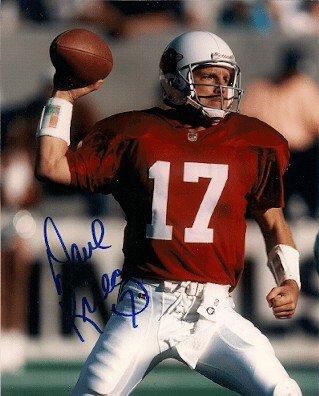 Autographed Signed Dave Krieg Photo St. Louis Cardinals