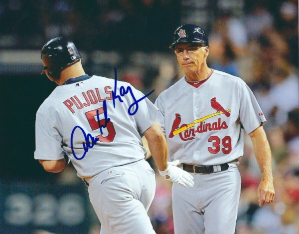 Autographed Signed Dave Mckay St. Louis Cardinals Photo