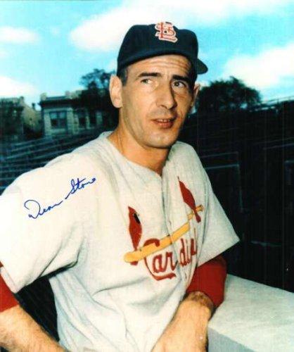 Autographed Signed Dean Stone St. Louis Cardinals Photo