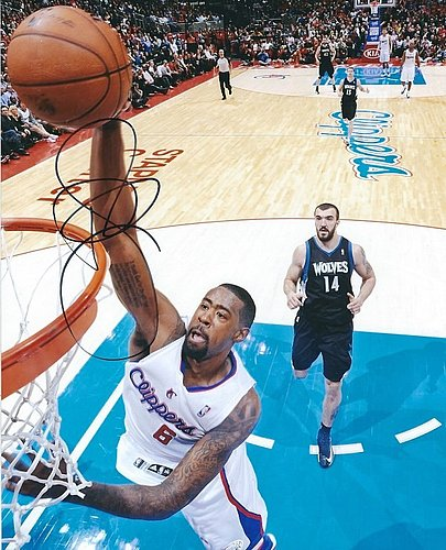 Autographed Signed Deandre Jordan 8x10 Los Angeles Clippers Photo - Certified Authentic