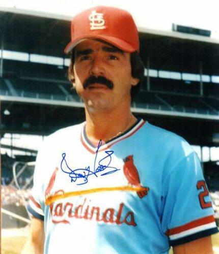 Autographed Signed Don Hood St. Louis Cardinals Photo