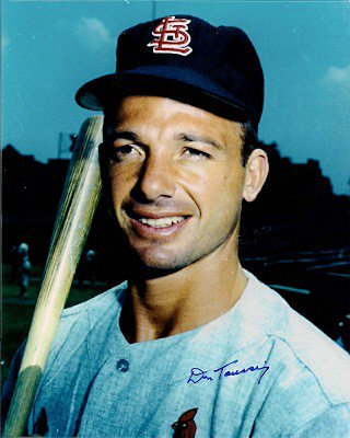 Autographed Signed Don Taussig St. Louis Cardinals Photo