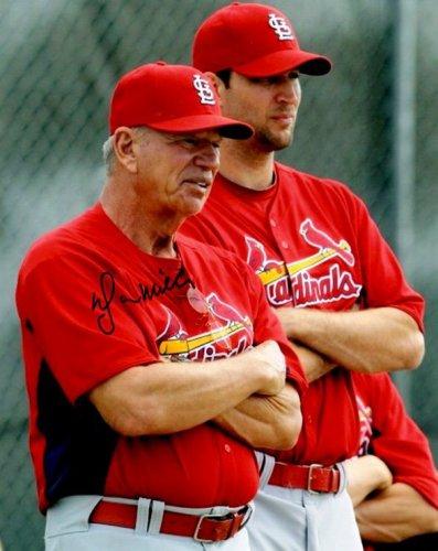 Autographed Signed Dyar Miller 8X10 St. Louis Cardinals Photo