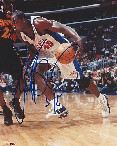 Autographed Signed Elton Brand Los Angeles Clippers 8x10 Photo - Certified Authentic