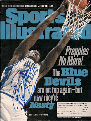 Autographed Signed Elton Brand Sports Illustrated - Certified Authentic